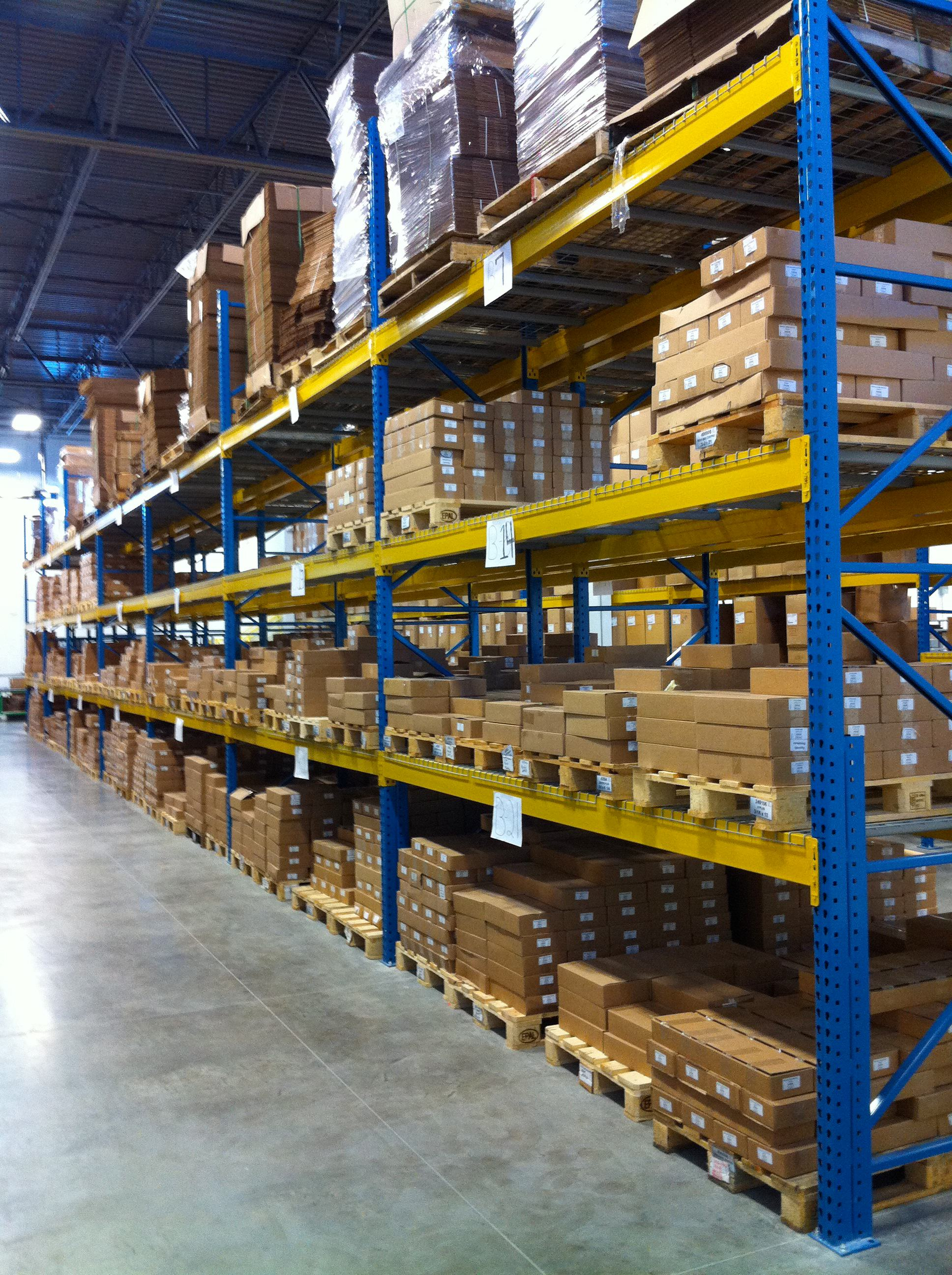 Selective Pallet Racking Warehouse