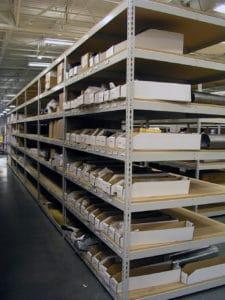 Backroom Storage Boltless Rivet Shelving