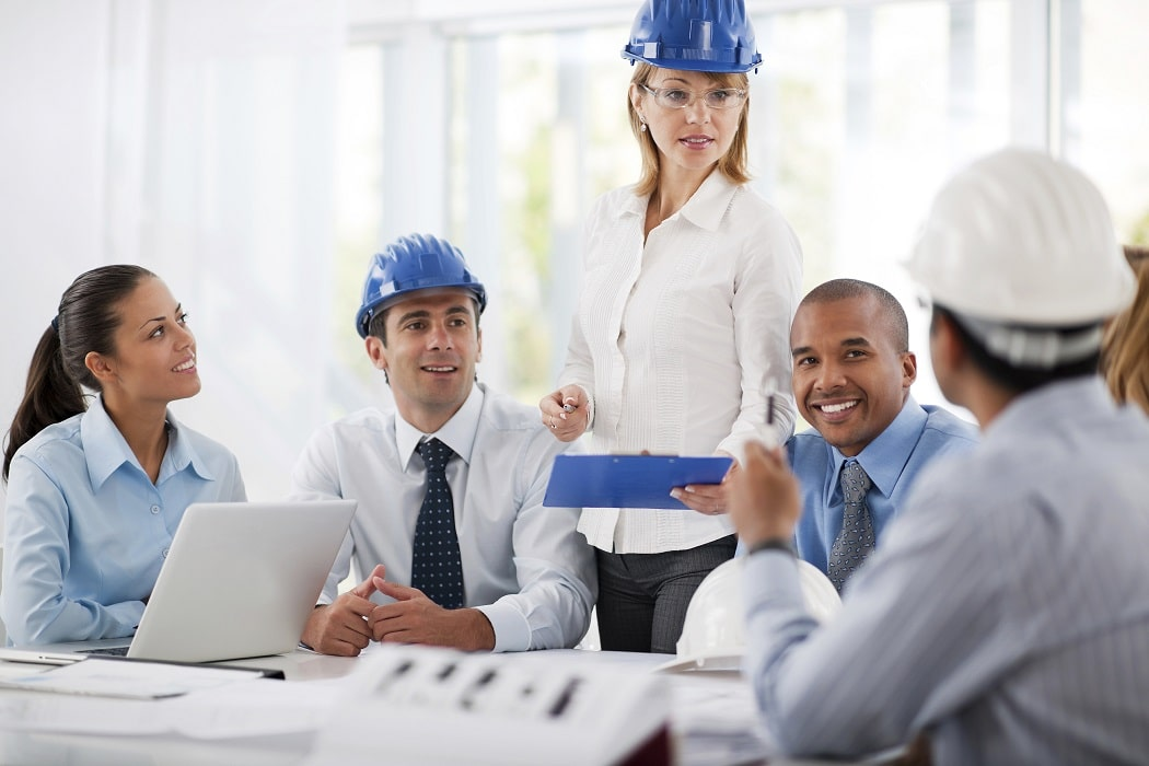 Group of successful architects talking about the project. They are wearing protective helmets.   [url=http://www.istockphoto.com/search/lightbox/9786622][img]http://dl.dropbox.com/u/40117171/business.jpg[/img][/url]  [url=http://www.istockphoto.com/search/lightbox/9786738][img]http://dl.dropbox.com/u/40117171/group.jpg[/img][/url]