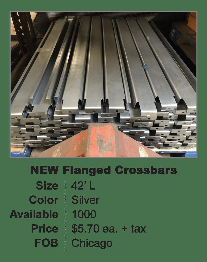 NEW flanged crossbar