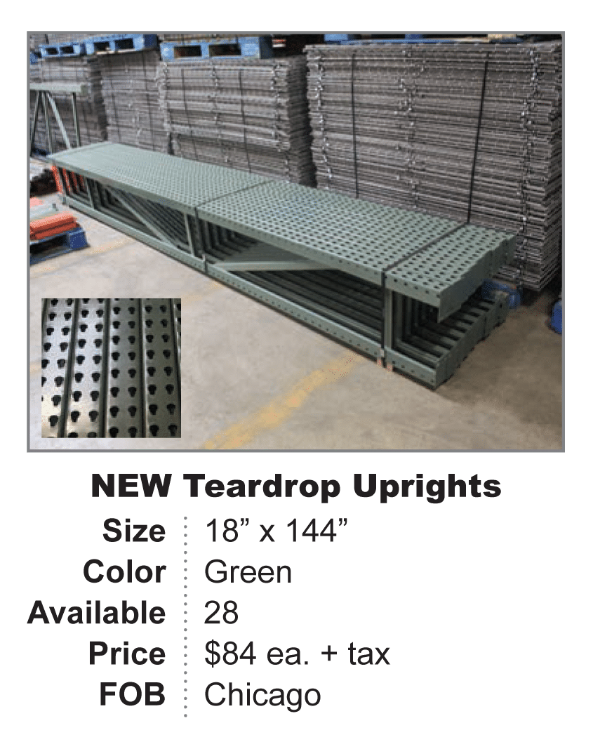 New Teardrop Uprights