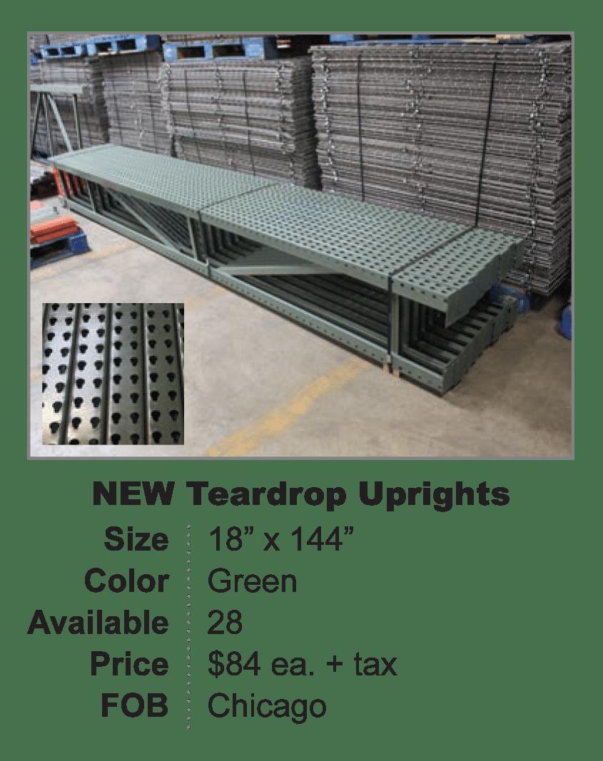 New Teardrop Uprights