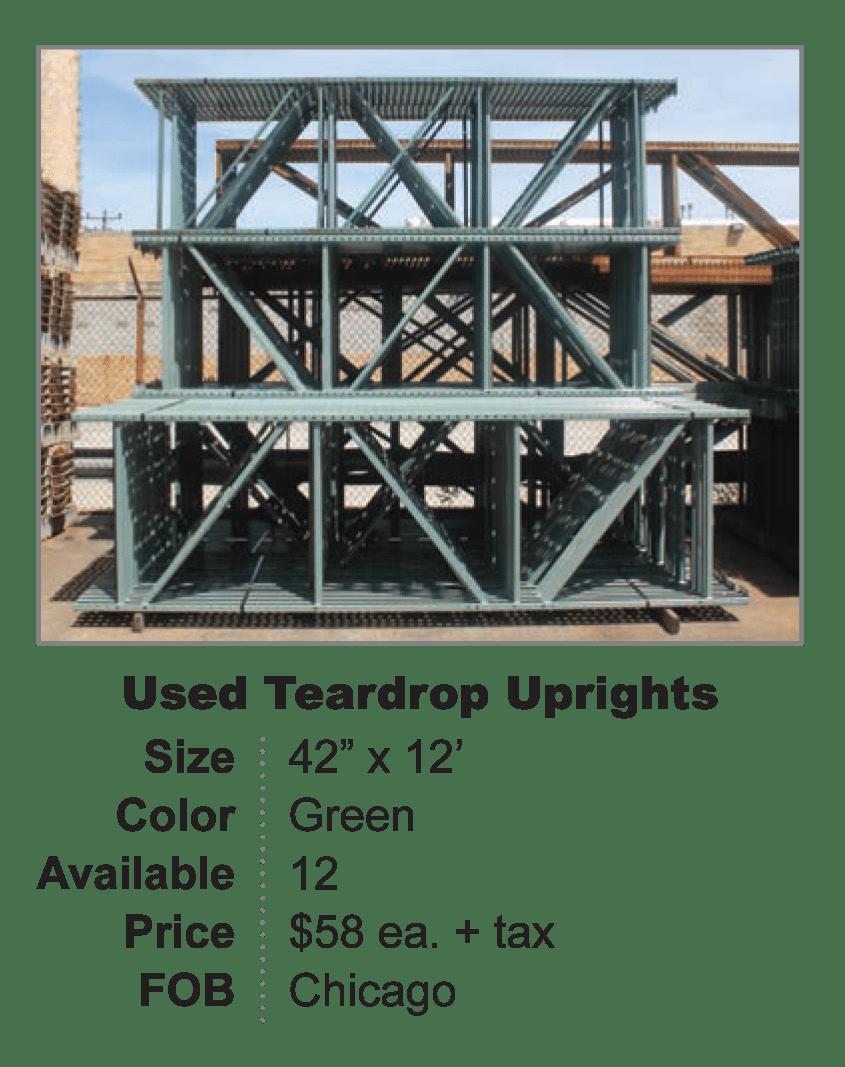 Used Teardrop Upright