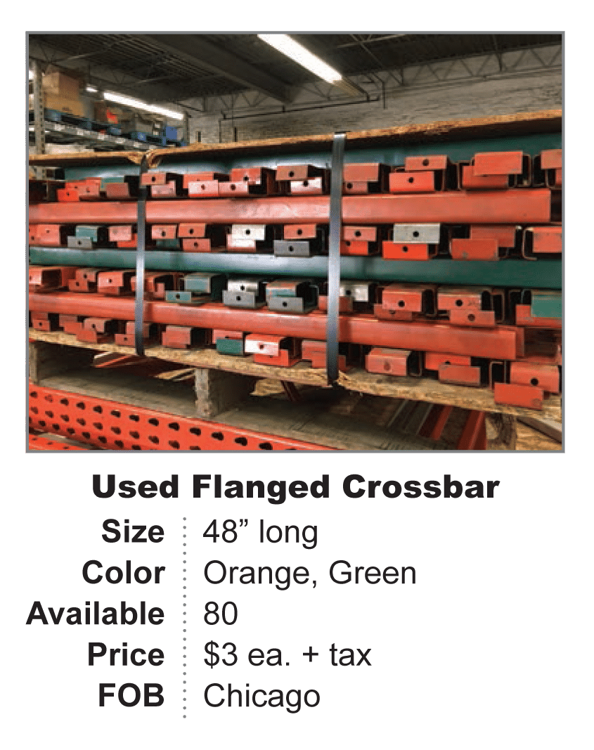 Used Flanged Crossbar