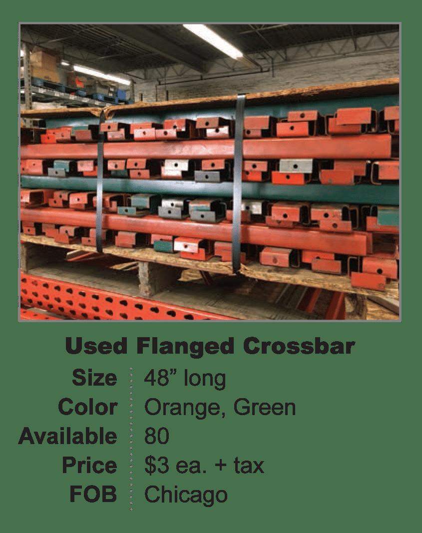 Used Flanged Crossbar