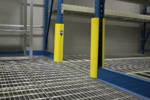 rack upright column protectors