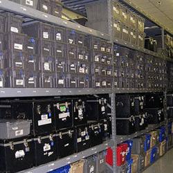 Media Container Storage