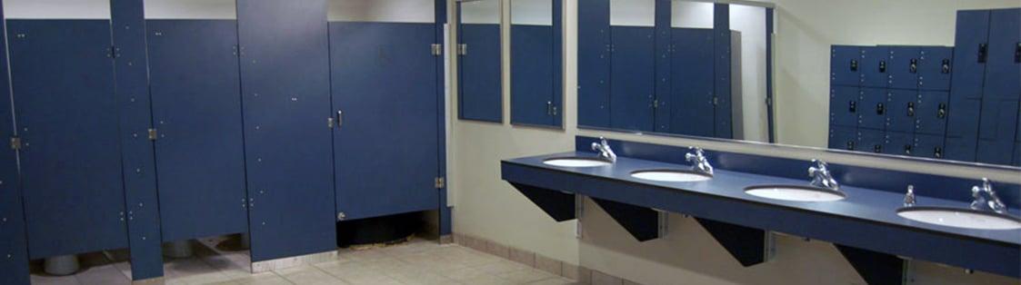 Bathroom partitions Top Photo