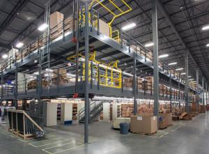 warehouse mezzanine system