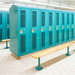 angle iron lockers