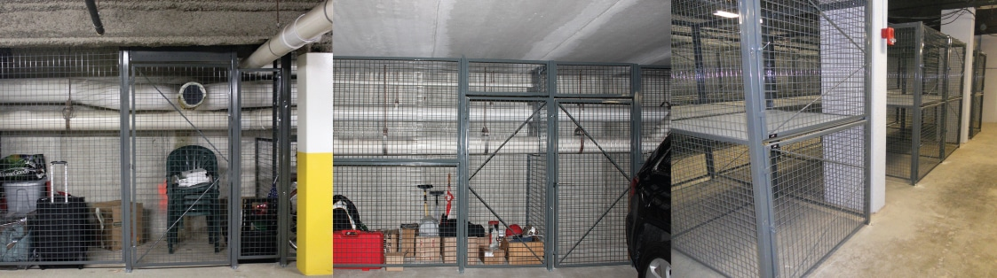 Wire Mesh Partitions Top Photo