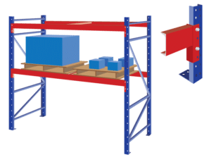 Structural Steel Rack