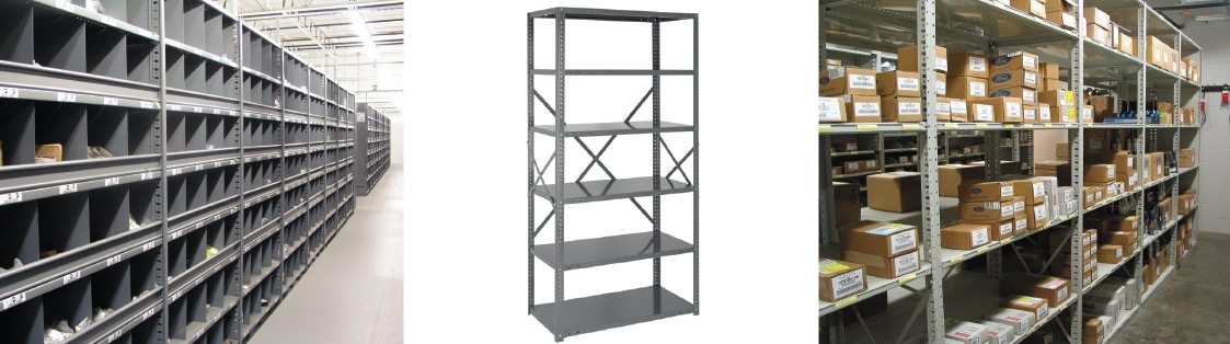 Steel Shelving top photo