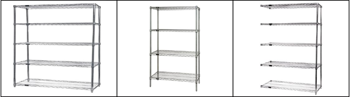 Wire shelving top photo