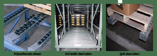 Pallet flow options