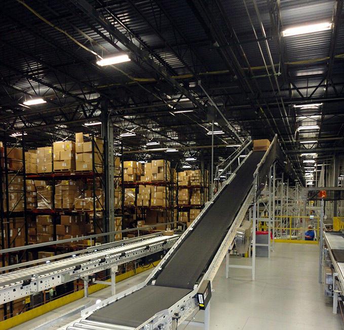 Conveyor System Types: Transportation Conveyors - REB Storage Systems