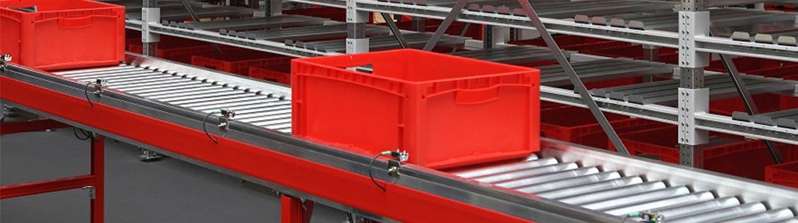 Accumulation conveyor top photo