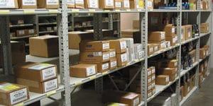 Backroom Storage Steel Shelving