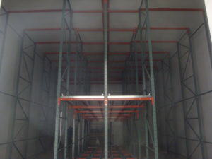 Rack Supported Structure