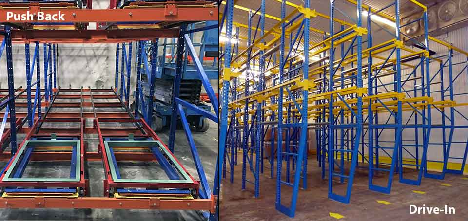LIFO-Cold Storage Racking System