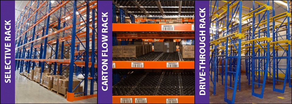First-In,First-Out Warehouse Storage Solution