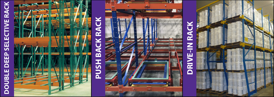 Last-In,First-Out Warehouse Storage Solution