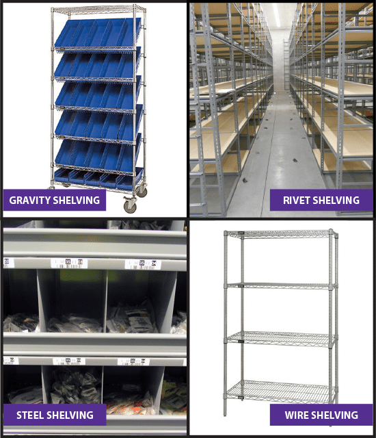 Shelving Warehouse Storage Solutions