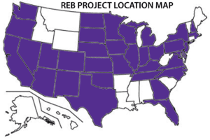 Shelving and Track Ladders Project Locations