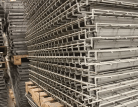 Used Wire Deck 36X52