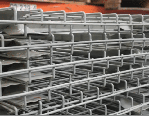 Used Wire Deck 48X52