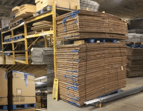 Used Gondola Boxes 40X48X40H