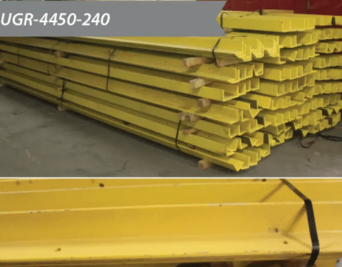 Used Guide Rail 4X4X1/2X240