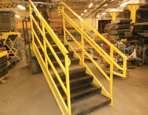 Used Stairways 36WX7 steps, 8 risers