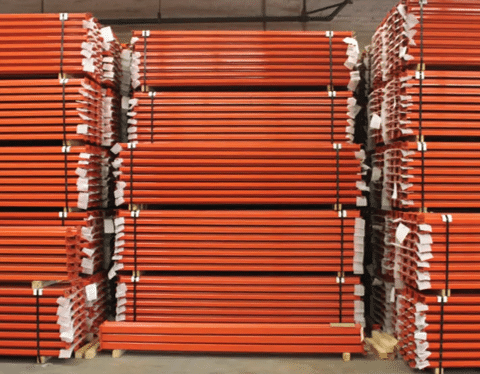 NEW Pallet Rack Teardrop Step Beams 4X96