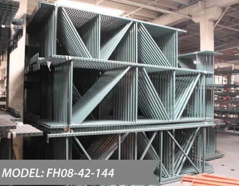 NEW Pallet Rack Teardrop Uprights 42X144