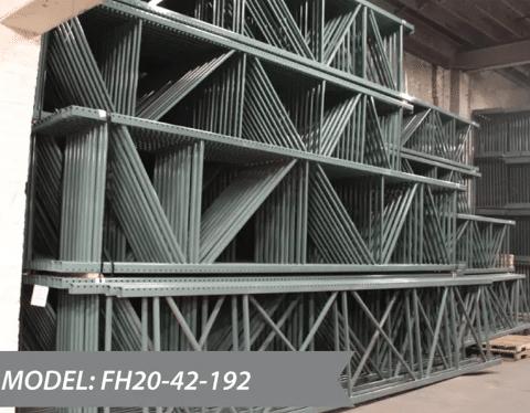NEW Pallet Rack Teardrop Uprights 42X192