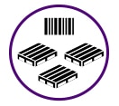 shuttle based unit load as_rs system is ideal for low number of skus and high number of pallets per sku
